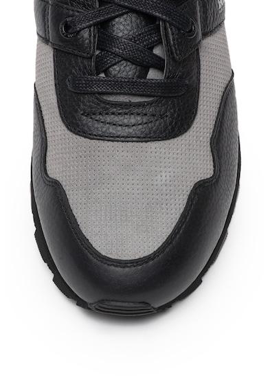 Boss Pantofi sport cu insertii din piele intoarsa Parkour Barbati