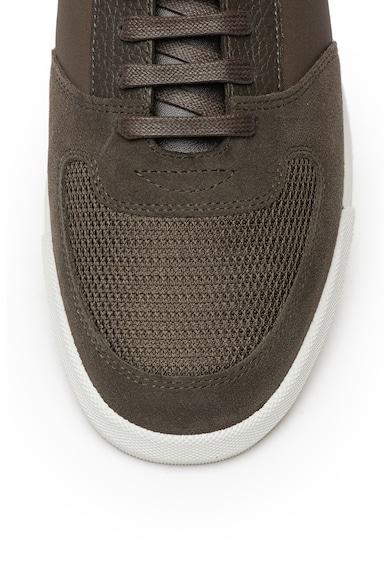 Boss Pantofi sport cu insertii din piele intoarsa Cosmopool Barbati