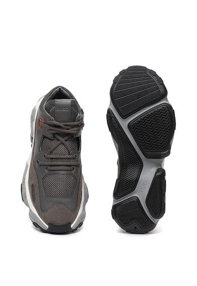 Boss Pantofi sport cu insertii de piele intoarsa Atomic Barbati