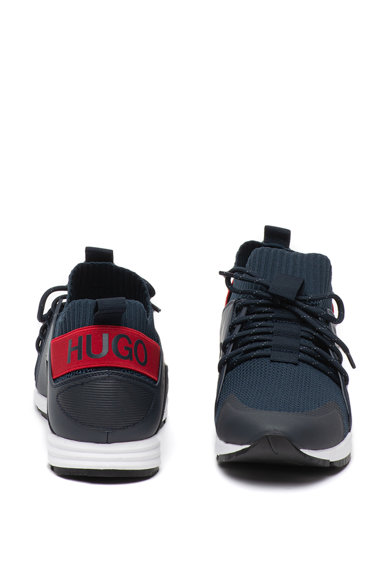 Boss Pantofi sport slip-on cu insertii din material textil Hybrid Barbati