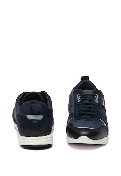 Boss Pantofi sport cu insertii din piele intoarsa Hybrid Barbati