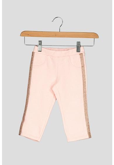 United Colors of Benetton Pantaloni sport cu garnituri stralucitoare Fete