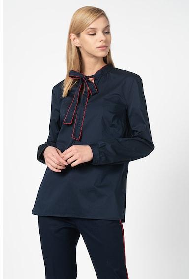 United Colors of Benetton Bluza cu funda din panglici Femei