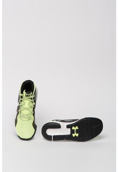 Under Armour Pantofi cu talpa cu pete decorative, pentru baschet Torch Fete