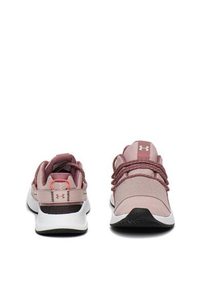 Under Armour Pantofi sport din plasa cu detalii contrastante Charged Femei