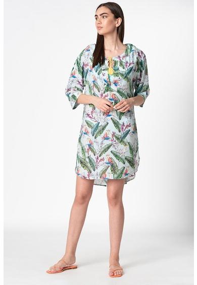 ESPRIT Bodywear Rochie de plaja cu imprimeu tropical Femei
