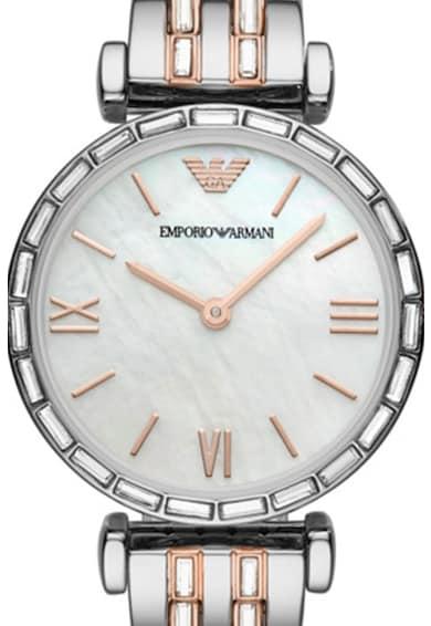 Emporio Armani Ceas decorat cu cristale Femei