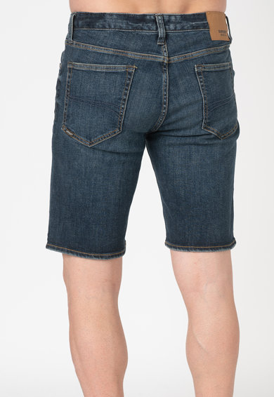 SUPERDRY Pantaloni scurti slim fit din denim Tyler Barbati