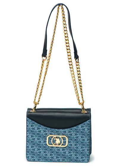 U.S. Polo Assn. Чанта с метално лого Жени