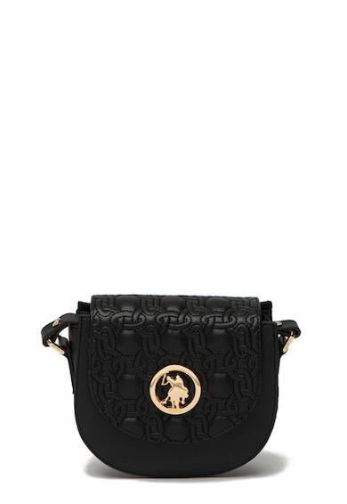 U.S. Polo Assn. Чанта от еко кожа с контрастни детайли Жени