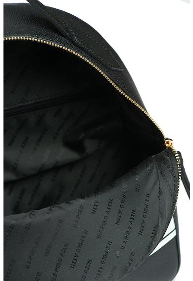 U.S. Polo Assn. Раница от еко кожа с контрасно лого Жени