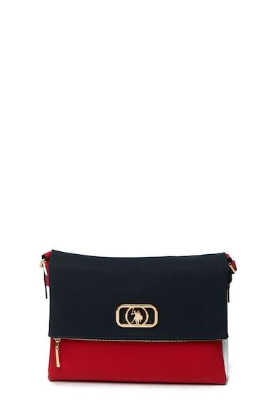 U.S. Polo Assn. Чанта през рамо с метално лого Жени