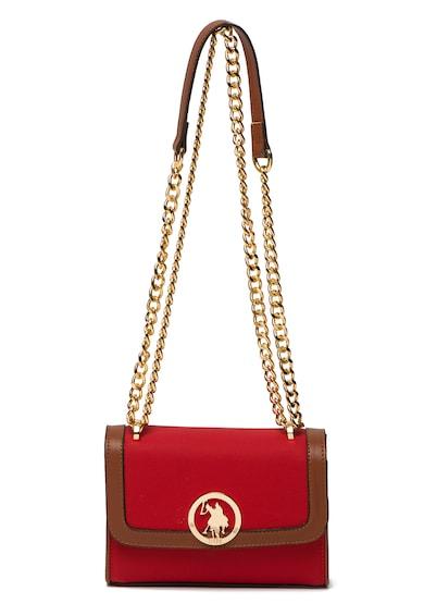 U.S. Polo Assn. Чанта през рамо с верижка Жени