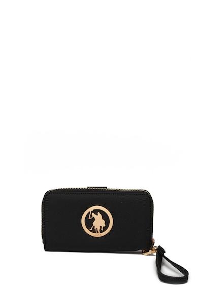 U.S. Polo Assn. Портфейл с еко кожа Сафиано Жени