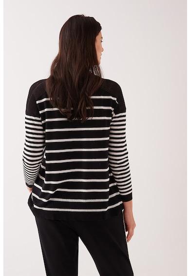 Fiorella Rubino Фино плетен раиран пуловер Жени