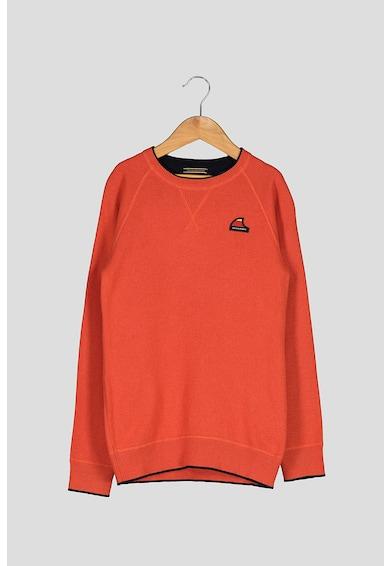 Jack&Jones Pulover din tricot fin cu aplicatie logo pe piept Dover Baieti
