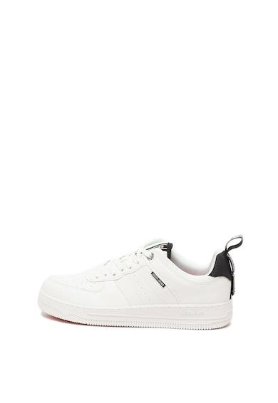 Jack&Jones Pantofi sport de piele ecologica cu detalii perforate Maverick Barbati