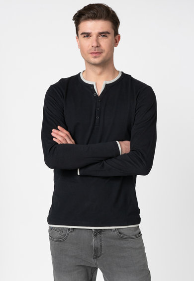 Esprit Bluza din bumbac organic Barbati