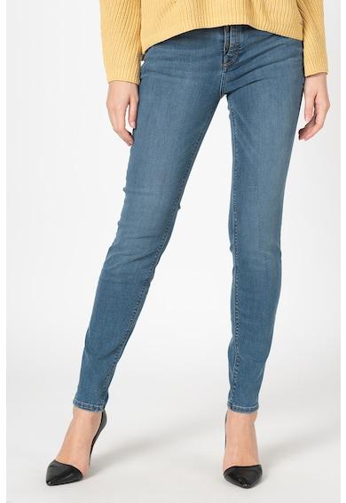 Esprit Прилепнали дънки със захабен вид Жени