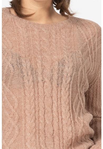 Esprit Pulover din amestec de lana, cu model torsade Femei
