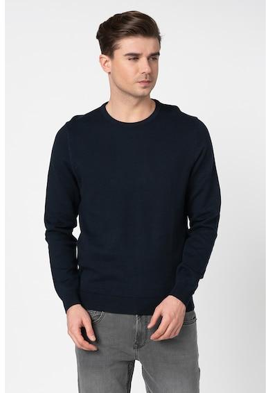 Esprit Pulover din tricot fin cu decolteu la baza gatului Barbati