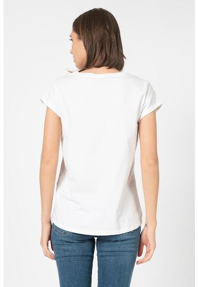 Esprit Тениска от органичен памук с лого Жени