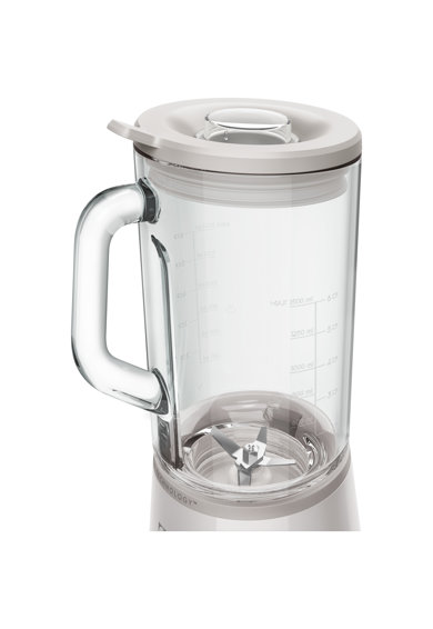Electrolux Blender  , 700W, 5 viteze + PULSE, 6 lame inox detasabile, cana sticla rezistenta inclinata la 5° Femei