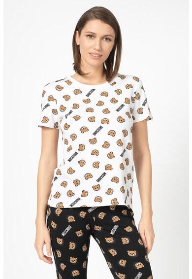 Moschino Tricou de casa, cu model logo Femei