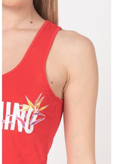 Moschino Rochie de plaja, cu imprimeu logo Femei