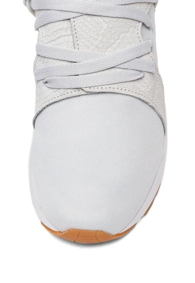 Asics Pantofi sport unisex de plasa, cu garnituri de piele Lyte V Sanze Femei