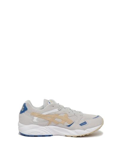 Asics Pantofi sport din piele intoarsa cu garnituri din piele Gel-Diablo Barbati