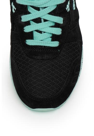 Asics Pantofi sport unisex de piele intoarsa, cu insertii de material textil Gel-Lyte III Femei