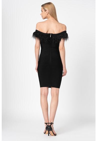 GUESS BY MARCIANO Прилепнала рокля с пера Жени