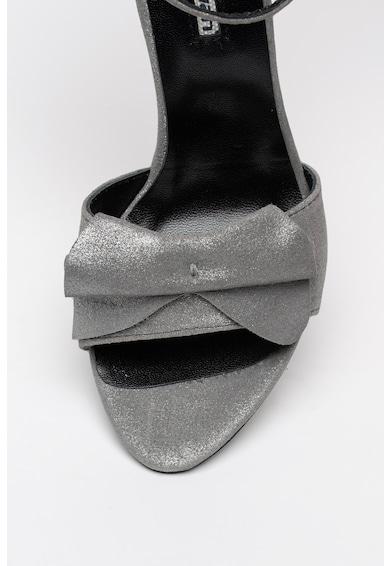 Mihaela Glavan Sandale de piele intoarsa cu toc stiletto Femei