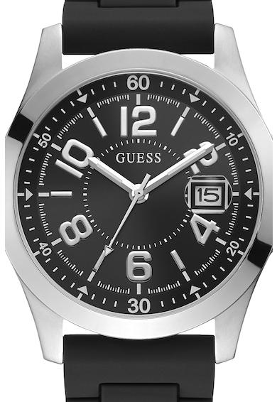 Guess Часовник със силиконова каишка Мъже