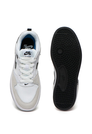 Nike Pantofi sport cu garnituri de piele intoarsa Alleyoop Fete