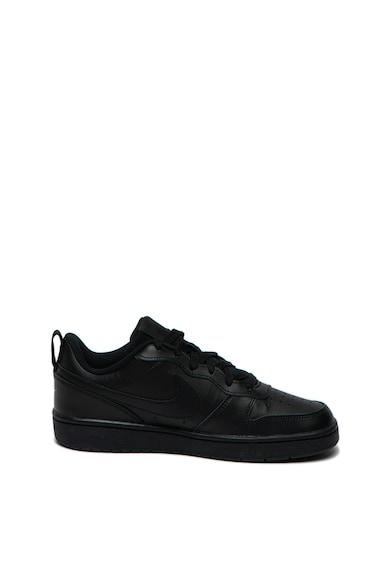 Nike Pantofi sport de piele cu perforatii Court Borough Baieti