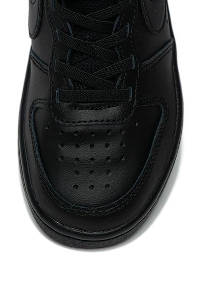 Nike Pantofi sport de piele cu perforatii Court Borough 2 Fete