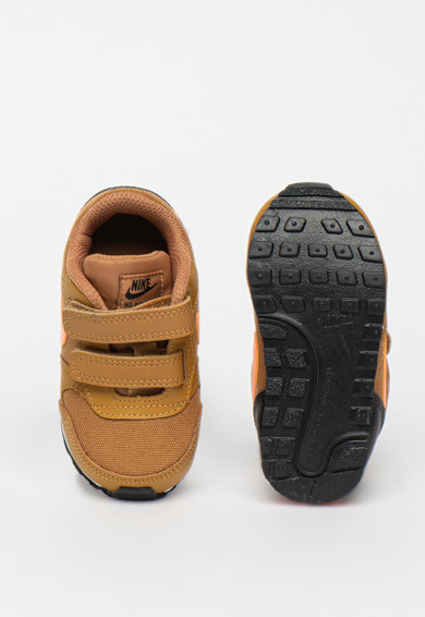 Nike Pantofi sport din piele cu garnituri din material textil Runner II Fete