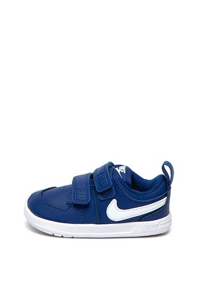 Nike Pantofi sport de piele cu benzi velcro Pico 5 Fete