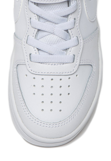 Nike Pantofi sport de piele Court Borough Low 2 Fete