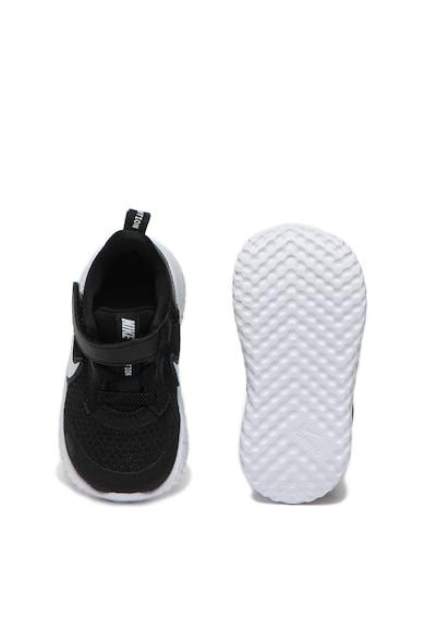 Nike Pantofi sport din material usor cu garnituri de piele Revolution 5 TDV Fete