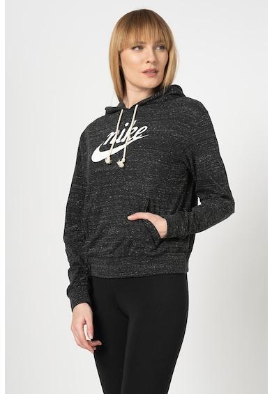 Nike Hanorac cu imprimeu logo si buzunar kangaroo Femei