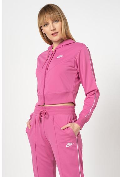 Nike Hanorac crop cu fermoar Femei