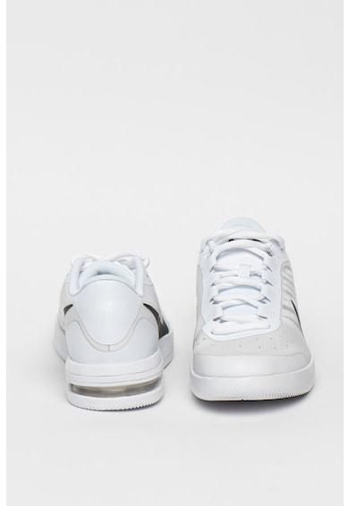 Nike Pantofi din piele ecologica cu insertii transparente, pentru tenis Air Max Vapor Barbati