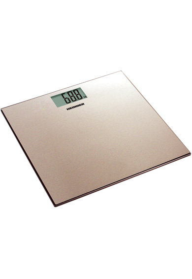 Heinner Cantar de persoane  , 180kg, platforma din inox colorat, 30 x 30 cm, display LCD, baterii 2 x 1.5V AAA, gold Femei