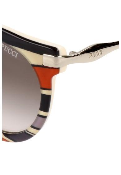 Pucci Ochelari de soare cu model in dungi Femei