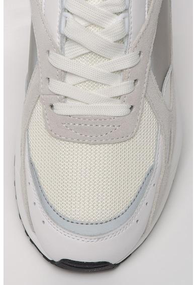 Versace Jeans Couture Pantofi sport cu garnituri de piele intoarsa si piele Runlight Barbati