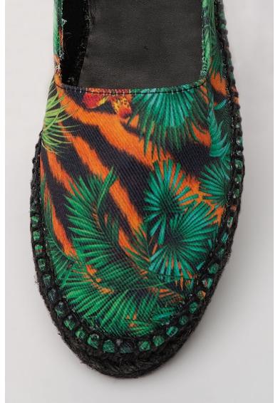 Versace Jeans Couture Espadrile cu model tropical Femei