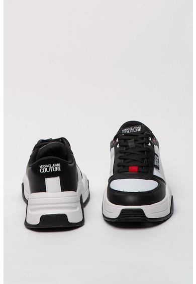 Versace Jeans Couture Pantofi sport cu garnituri de piele Fire Barbati